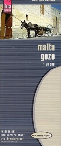 MALTA GOZO mapa 1:50 000 REISE KNOW HOW