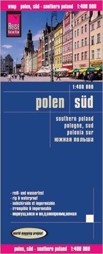 POLSKA POŁUDNIOWA mapa 1:400 000 REISE KNOW HOW