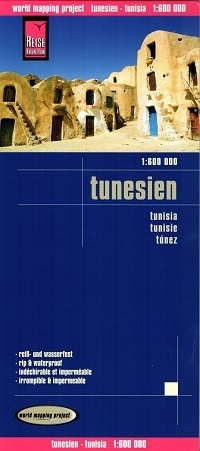 TUNEZJA mapa 1:600 000 REISE KNOW HOW