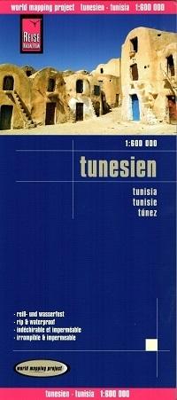 TUNEZJA mapa 1:600 000 REISE KNOW HOW
