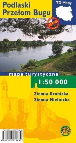PODLASKI PRZEŁOM BUGU papierowa mapa turystyczna 1:50 000 TD