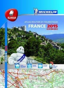 FRANCJA atlas samochodowo turystyczny 1:200 000 MICHELIN 2015