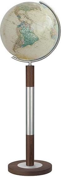 GLOBUS ROYAL czasza kryształowa, na stojaku, o średnicy 40cm COLUMBUS