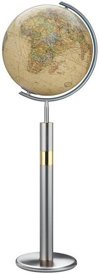 GLOBUS ROYAL czasza kryształowa, podstawa stal nierdzewna, wysokość 120cm COLUMBUS