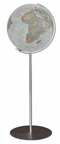 GLOBUS DUO ALBA czasza akrylowa, podstawa stal nierdzewna, o średnicy 40cm COLUMBUS