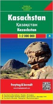 KAZACHSTAN 1: 2 000 000 mapa samochodowa FREYTAG & BERNDT