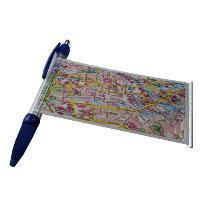 HAMBURG długopis + plan miasta FREYTAG & BERNDT