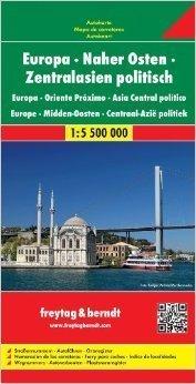 EUROPA I BLISKI WSCHÓD mapa polityczna 1:5 500 000 FREYTAG&BRENDT