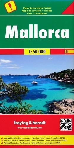 MAJORKA mapa turystyczna 1:50 000 FREYTAG & BERNDT