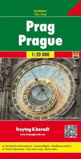 PRAGA plan miasta 1:20 000 FREYTAG & BERNDT