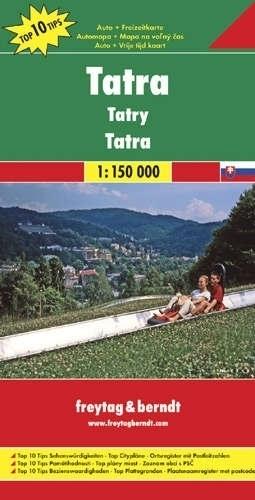 TATRY mapa samochodowa 1:150 000 FREYTAG & BERNDT
