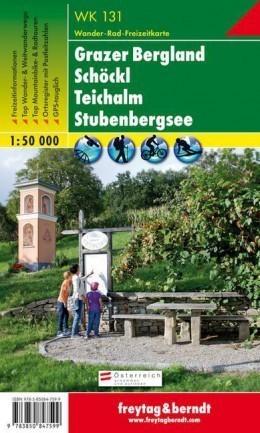 GRAZER BERGLAND - SCHOCKL - TEICHALM - STUBENBERGSEE mapa turystyczna 1:50 000 FREYTAG & BERNDT