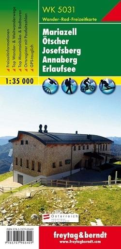 MARIAZELL - OTSCHER - JOSEFSBERG - ANNABERG mapa turystyczna 1:35 000 FREYTAG & BERNDT