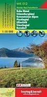 WK012 HOHE WAND SCHNEEBERGLAND mapa turystyczna 1:50 000 FREYTAG & BERNDT