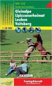 GLEINALPE - LEOBEN - VOITSBERG mapa turystyczna 1:50 000 FREYTAG & BERNDT