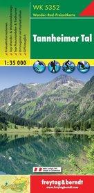 WK5352 TANNHEIMER TAL mapa turystyczna 1:35 000 FREYTAG & BERNDT