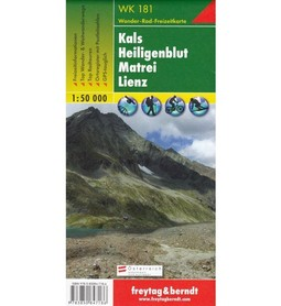 KALS - HEILIGENBLUT - MATREI - LIENZ mapa turystyczna 1:50 000 FREYTAG & BERNDT