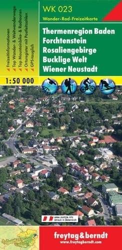 ROSALIENGEBIRGE - FOCHTENSTEIN mapa turystyczna 1:50 000 FREYTAG & BERNDT