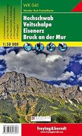 HOCHSCHWAB - VEITSCHALPE - EISENERZ mapa turystyczna 1:50 000 FREYTAG & BERNDT