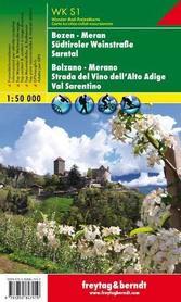 BOLZANO MERANO mapa turystyczna 1:50 000 FREYTAG & BERNDT