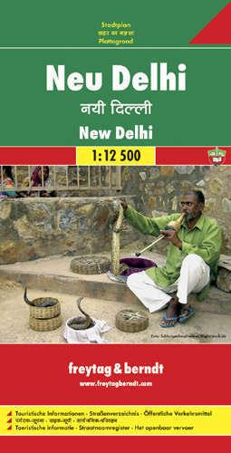 NEW DELHI plan miasta 1:12 500 FREYTAG & BERNDT
