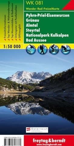 GRUNAU - ALMTAL - STEYRTAL mapa turystyczna 1:50 000 FREYTAG & BERNDT