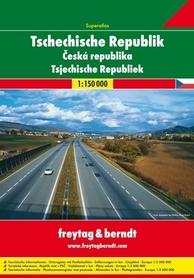 CZECHY atlas samochodowy 1:150 000 FREYTAG & BERNDT