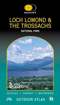 LOCH LOMOND & THE TROSSACHS atlas wodoodporny 1:40 000 HARVEY