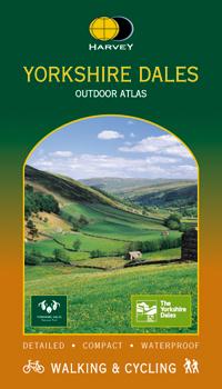 YORKSHIRE DALES atlas wodoodporny 1:40 000 HARVEY