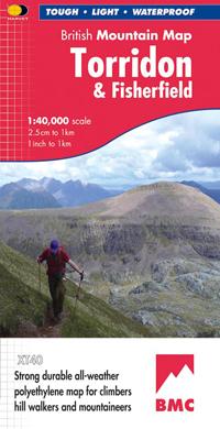 TORRIDON & FISHERFIELD mapa wodoodporna 1:40 000 HARVEY