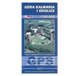GÓRA KALWARIA I OKOLICE mapa topograficzno-turystyczna 1: 50 000 GPS WZKART