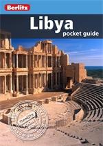 LIBIA pocket guide przewodnik BERLITZ