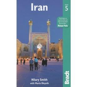 IRAN WYDANIE 5 przewodnik turystyczny BRADT 2017