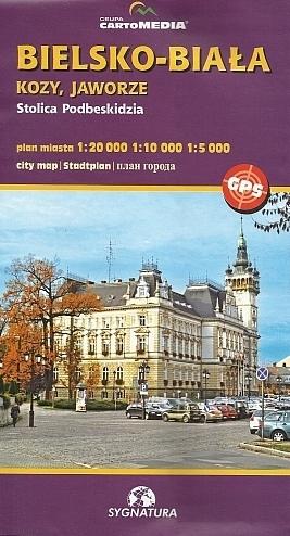 BIELSKO-BIAŁA plan miasta 1:20 000 CARTOMEDIA