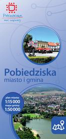 POBIEDZISKA MIASTO I GMINA plan miasta i mapa gminy 1:15 000/1:50 000 CARTOMEDIA / TOPMAPA