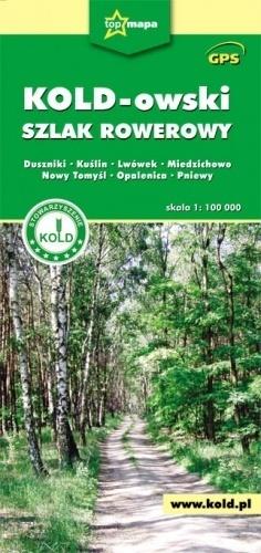 KOLD-owski szlak rowerowy mapa 1:100 000 CARTOMEDIA