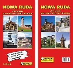 NOWA RUDA plan miasta 1:18 000 EKOGRAF