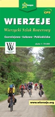 WIERZEJE Wierzycki Szlak Rowerowy mapa 1:70 000 CARTOMEDIA