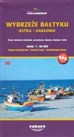 WYBRZEŻE BAŁTYKU Ustka - Darłowo mapa turystyczna 1:50 000 ROKART