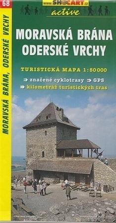 BRAMA MORAWSKA - GÓRY ODRZAŃSKIE mapa turystyczna 1:50 000 SHOCART