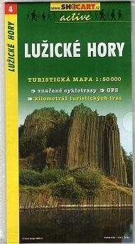 GÓRY ŁUŻYCKIE mapa turystyczna 1:50 000 SHOCART