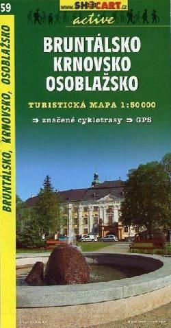 BRUNTALSKO – KRNOVSKO - OSOBLAZSKO mapa turystyczna 1:50 000 SHOCART