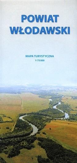 POWIAT WŁODAWSKI mapa turystyczna 1:75 000 CARTOMEDIA
