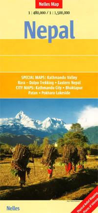 NEPAL mapa samochodowa 1:480 000 NELLES