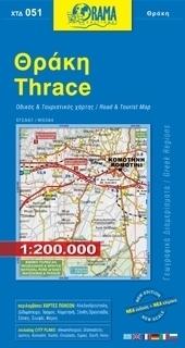 TRACJA mapa samochodowa 1:200 000 ORAMA