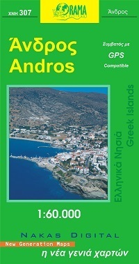 ANDROS mapa samochodowa 1:60 000 ORAMA