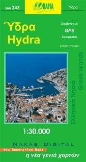HYDRA mapa samochodowa 1:30 000 ORAMA