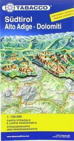 POŁUDNIOWY TYROL laminowana mapa panoramiczna 1:160 000 TABACCO
