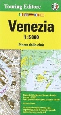 WENECJA wodoodporny plan miasta 1:5 000 TOURING EDITORE