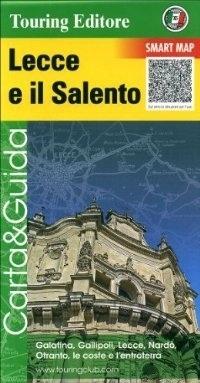 LECCE SALENTO APULIA POŁUDNIOWA mapa turystyczna 1:175 000 TOURING EDITORE